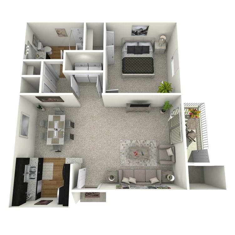Floor plan image of Jordan