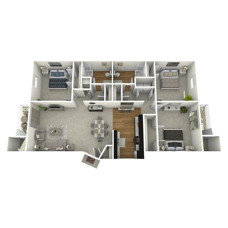 Floor plan image of Waterford