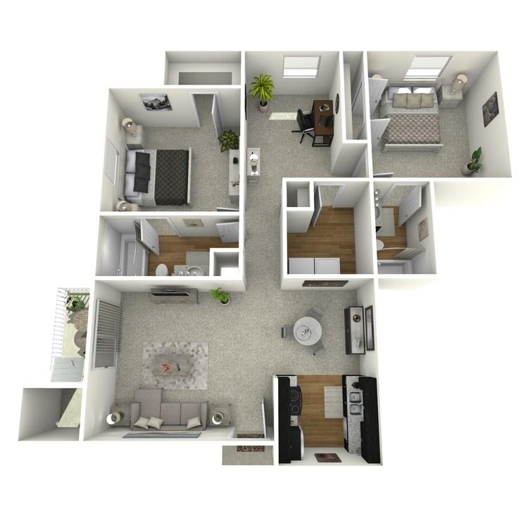 Floor plan image of Brandt