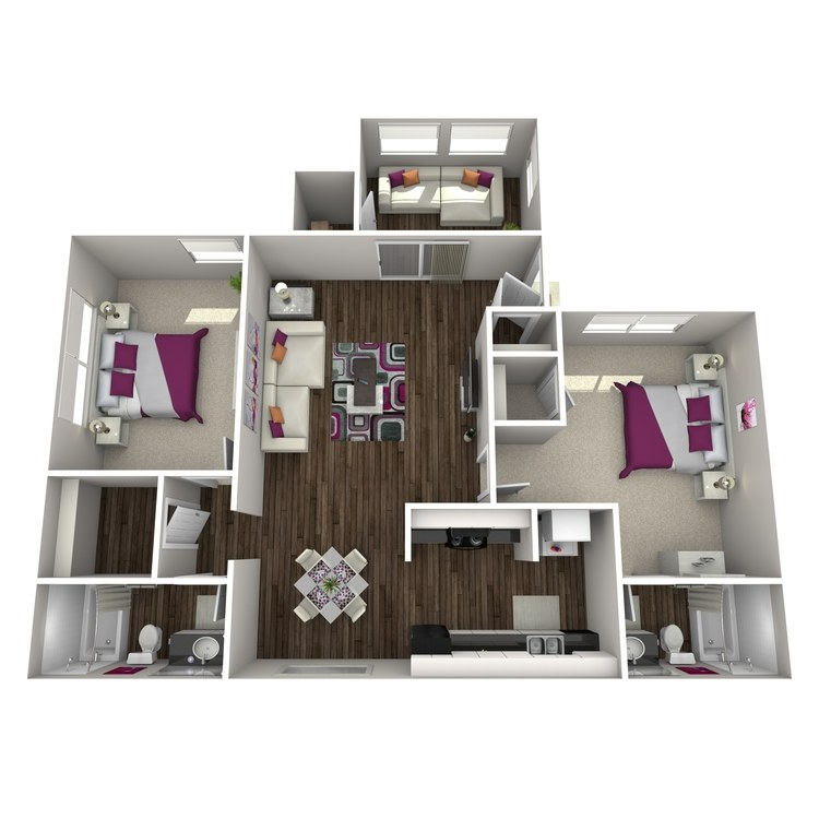 Floor plan image of Betula