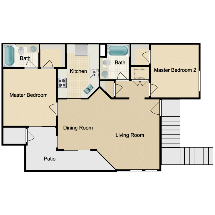 Bedroom Apartments In Bakersfield