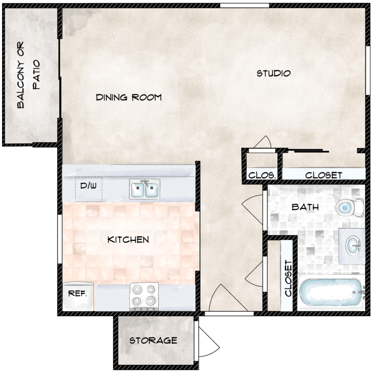 Floor plan image of Alpine