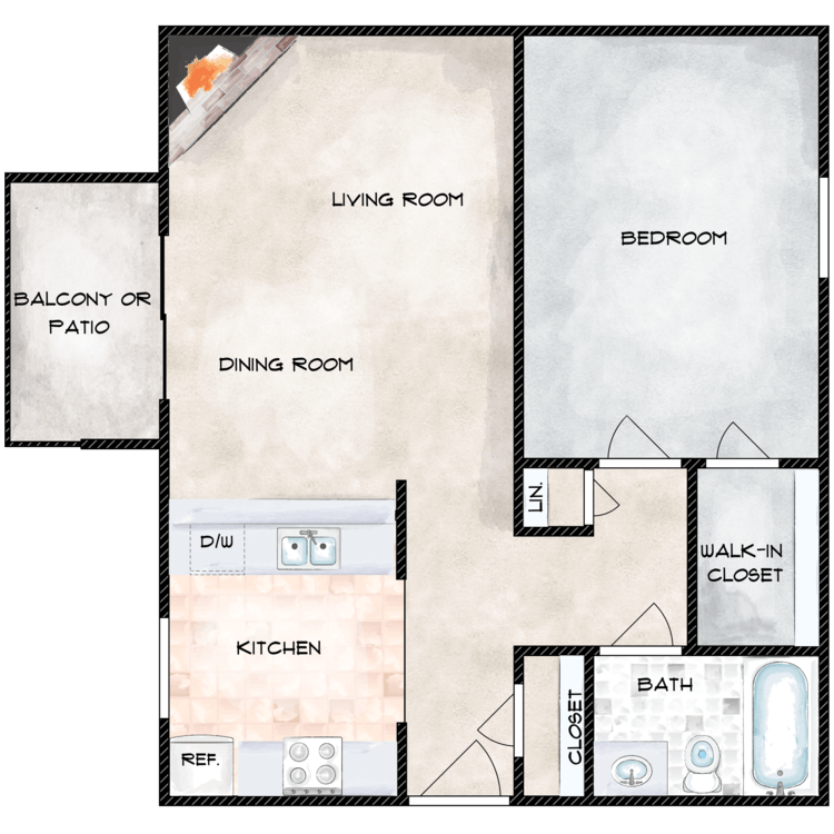 Floor plan image of Madrona