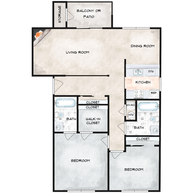 Floor plan image of Sequoia
