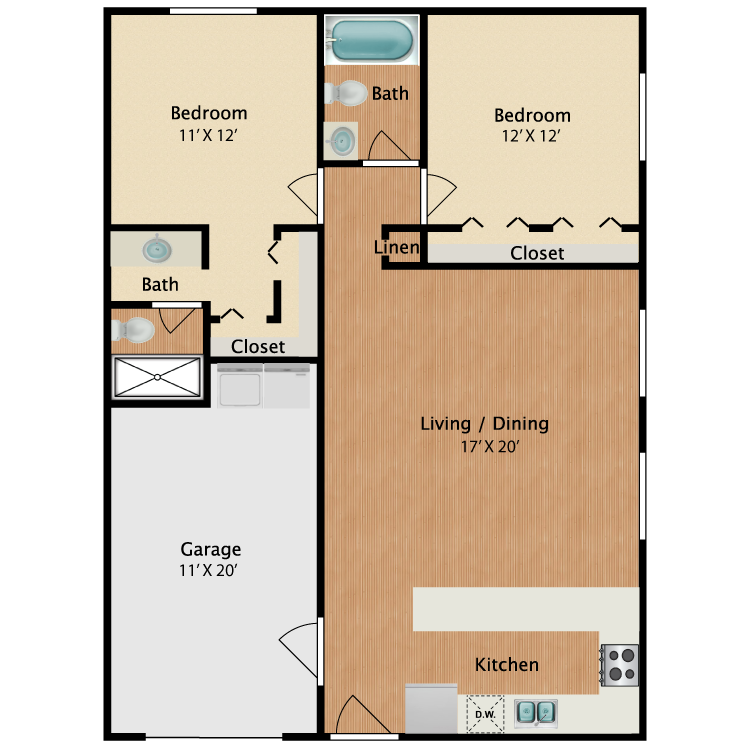 Floor plan image of The Majesty