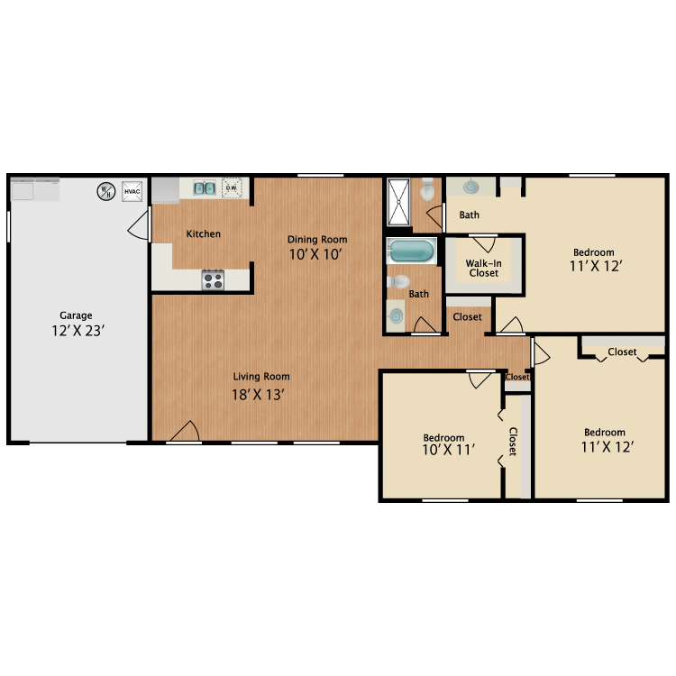 Floor plan image of The Royal