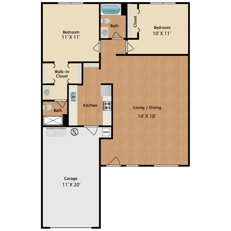 Floor plan image of The Sabal