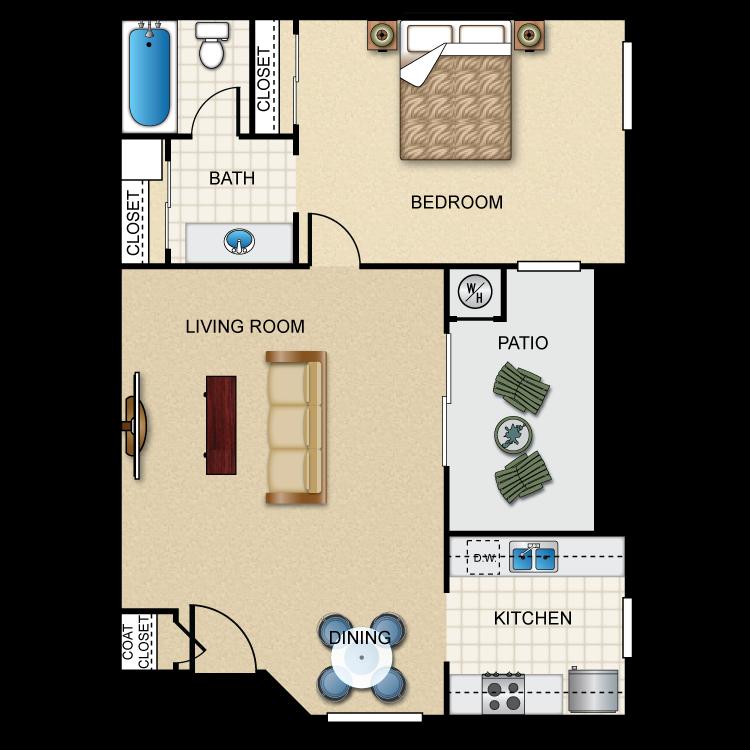 Plan 1 floor plan image
