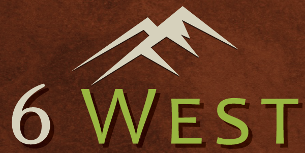6 West Apartments Logo