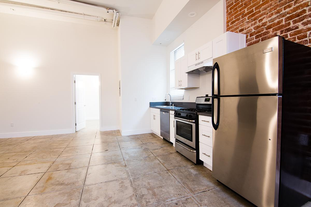 Kitchen with stainless Steel Appliances at Ancelle