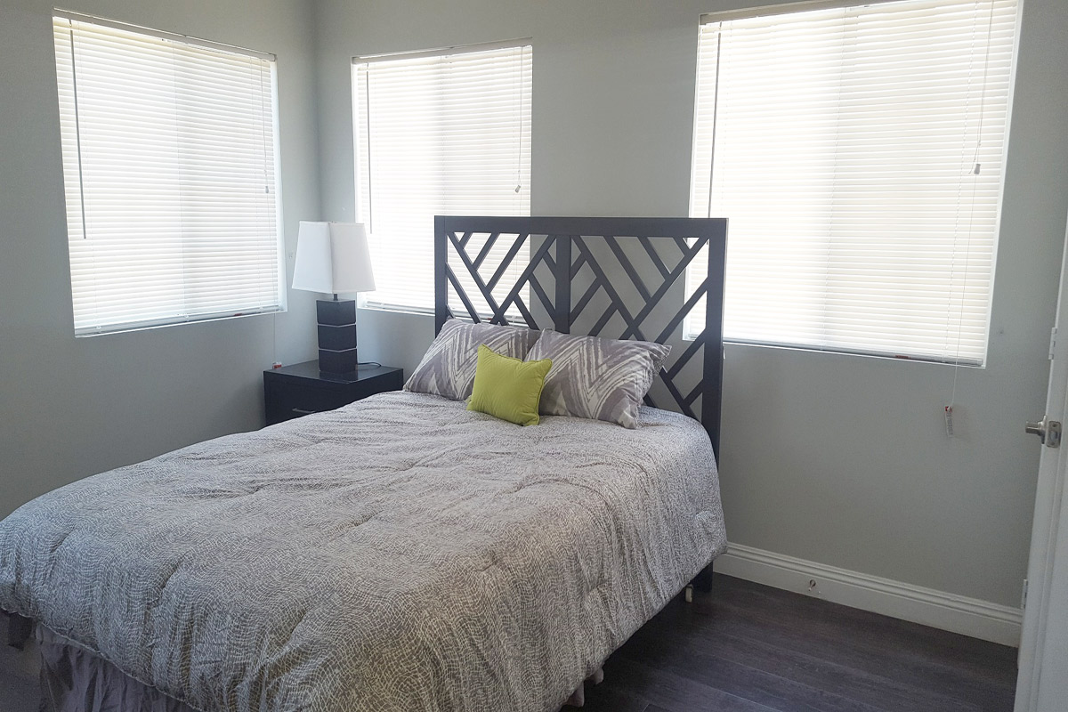 Comfortable Bedroom at Ancelle in Los Angeles, CA