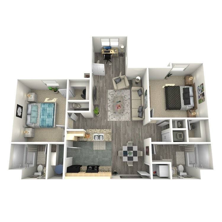 Floor plan image of Banyan