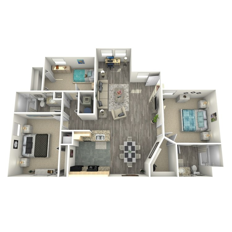 Floor plan image of Cobblestone