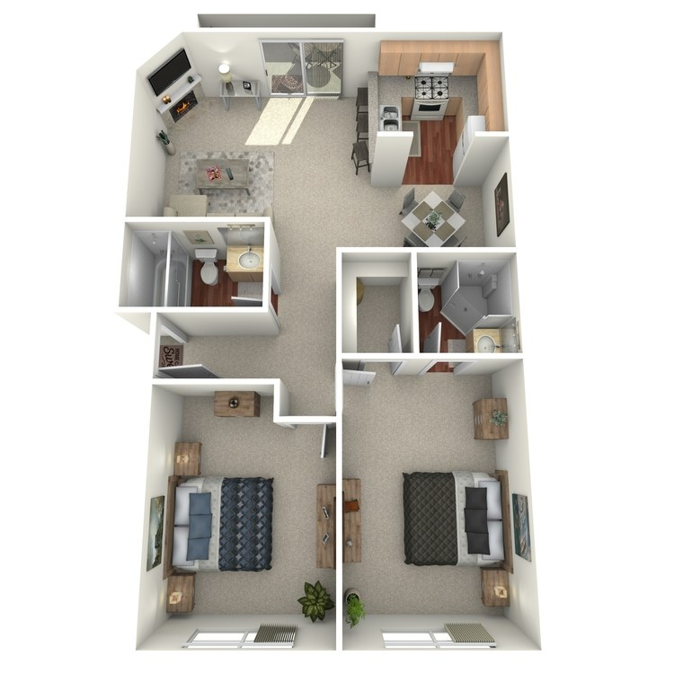 Floor plan image of Unit A
