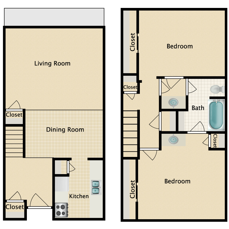 Floor plan image of L