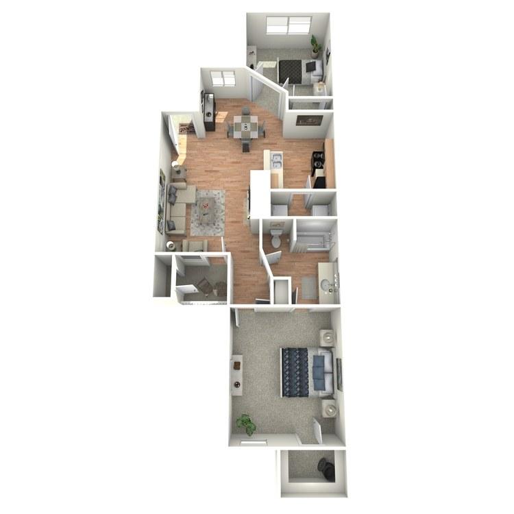 Floor plan image of Blake