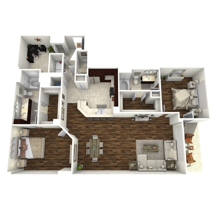 Floor plan image of B5a