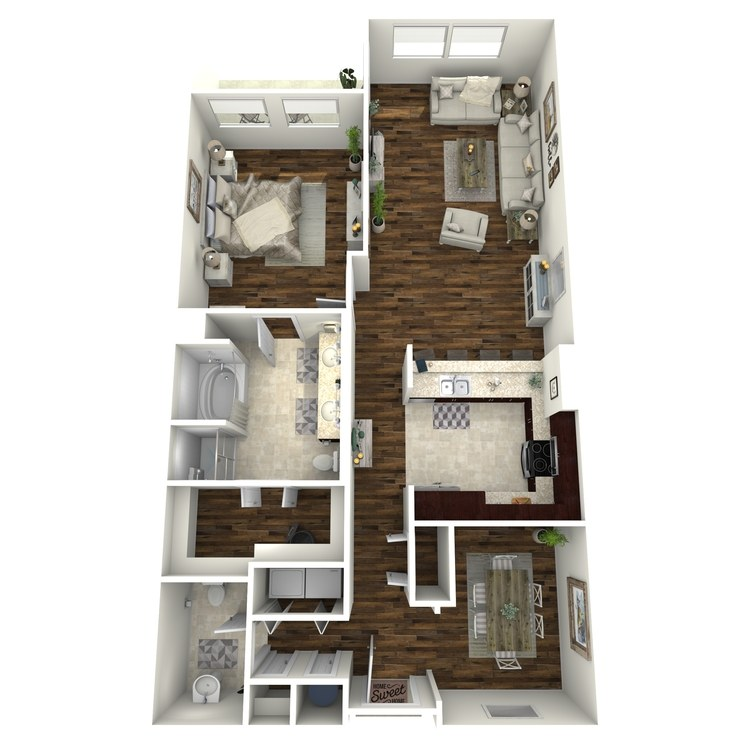 Floor plan image of A8a