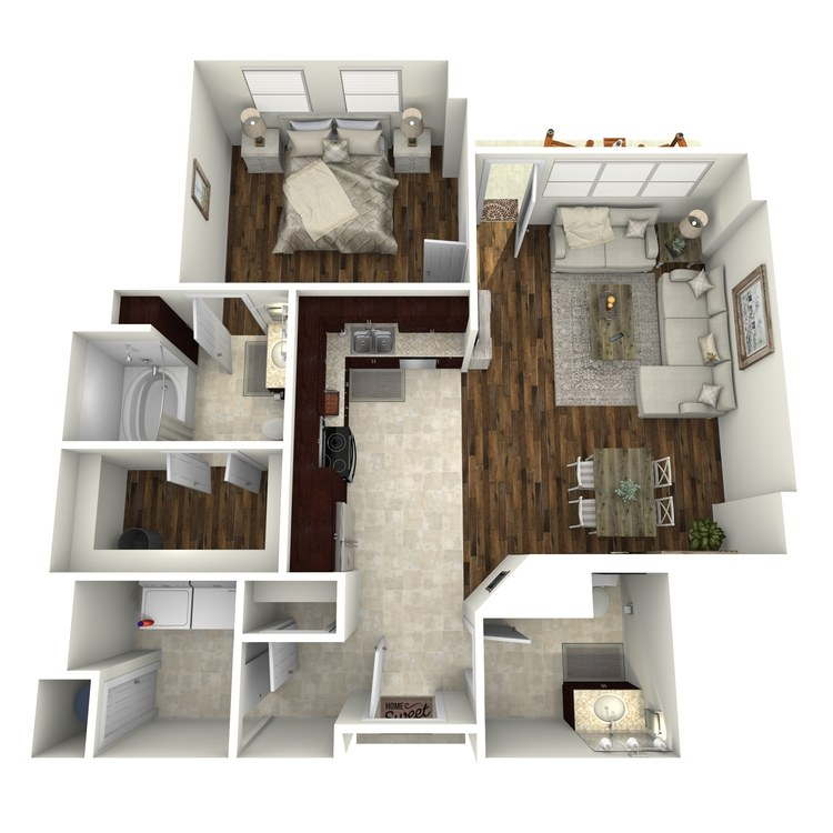 Floor plan image of A18