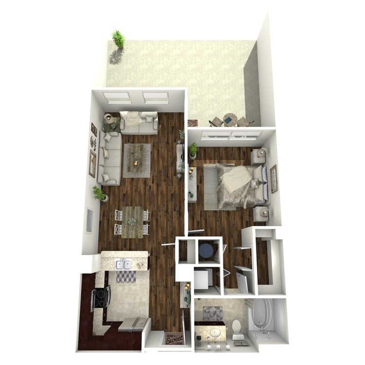 Floor plan image of A12