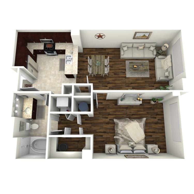Floor plan image of A13