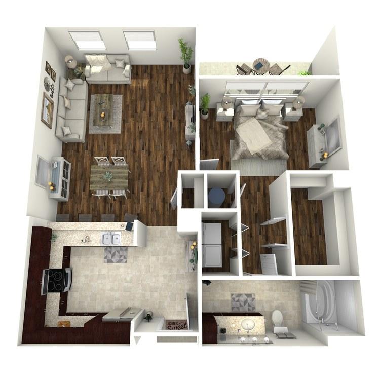 Floor plan image of A3b