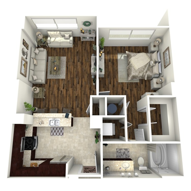 Floor plan image of A2a