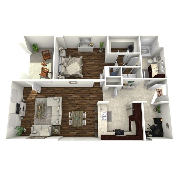 Floor plan image of A17