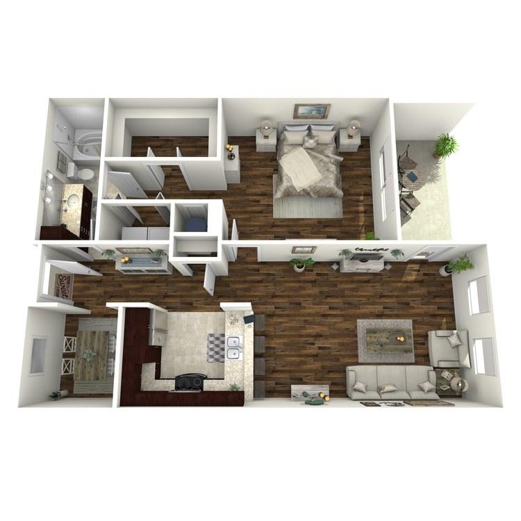 Floor plan image of A6