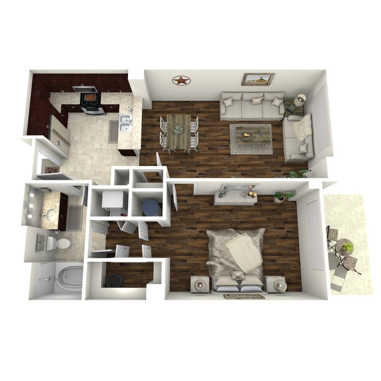 Floor plan image of A13a