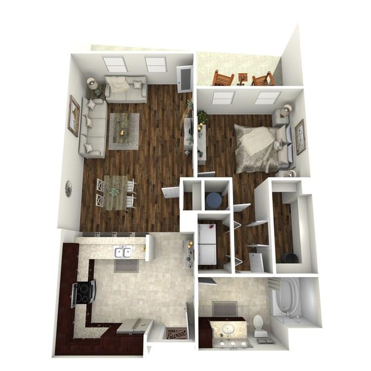 Floor plan image of A16