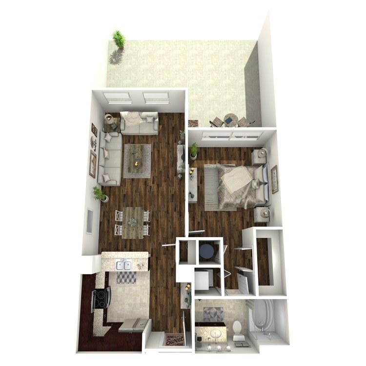 Floor plan image of A10b
