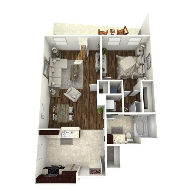 Floor plan image of A14