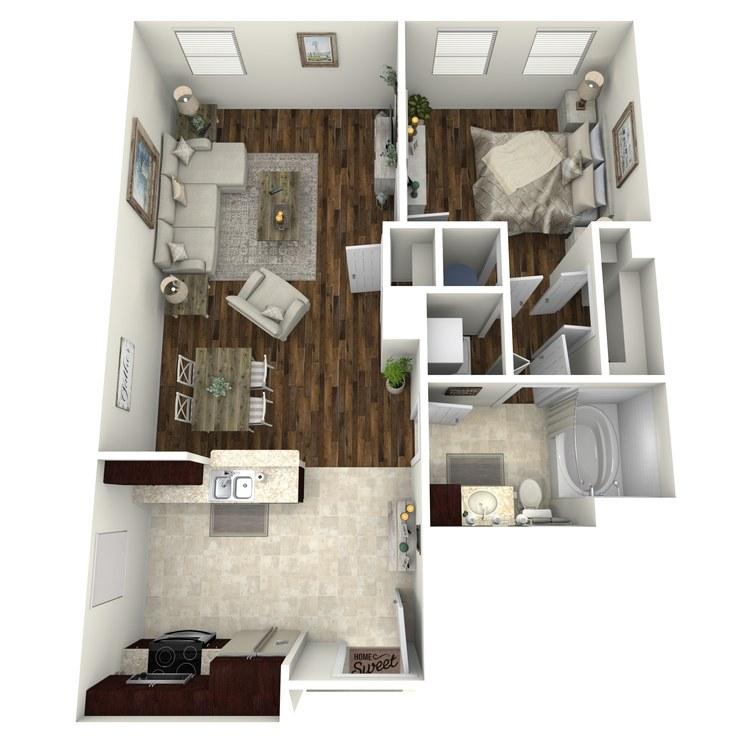 Floor plan image of A15b
