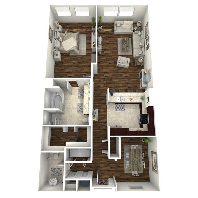 Floor plan image of A8