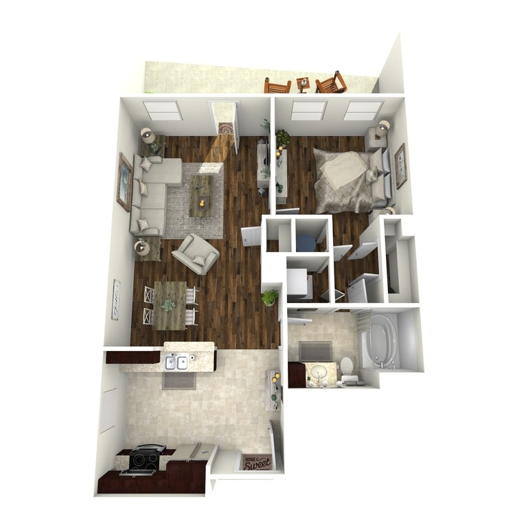 Floor plan image of A15