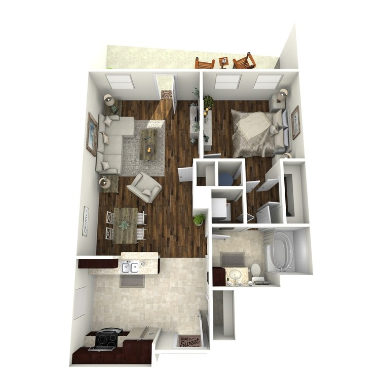 Floor plan image of A14b