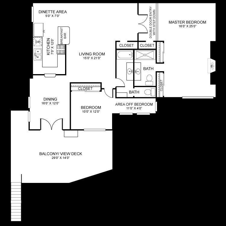 Floor plan image of Penthouse