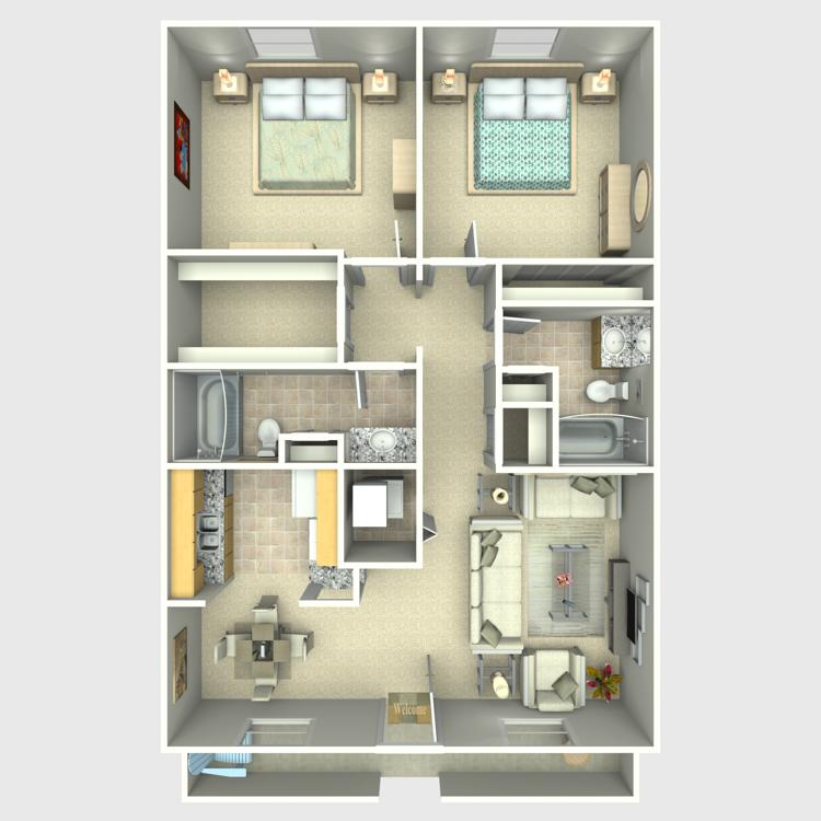 Floor plan image of Mikasa
