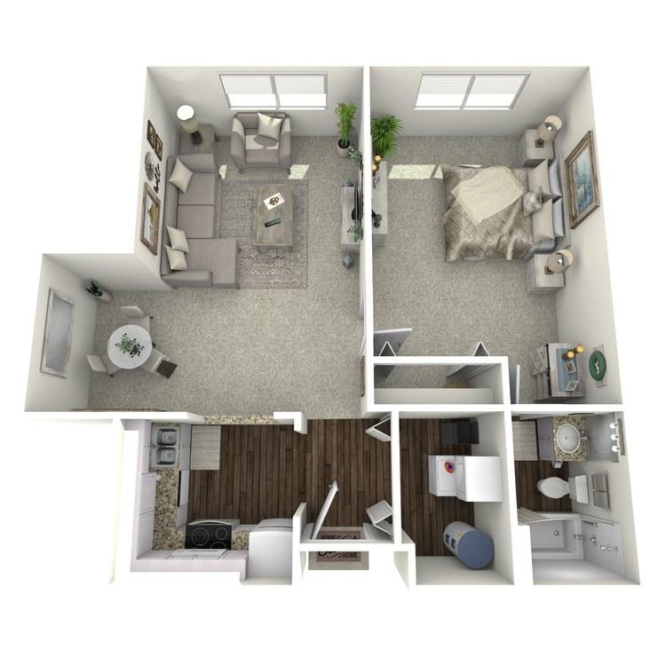 Floor plan image of Creekside Parkview