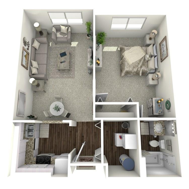 Floor plan image of Tablemountain Miner