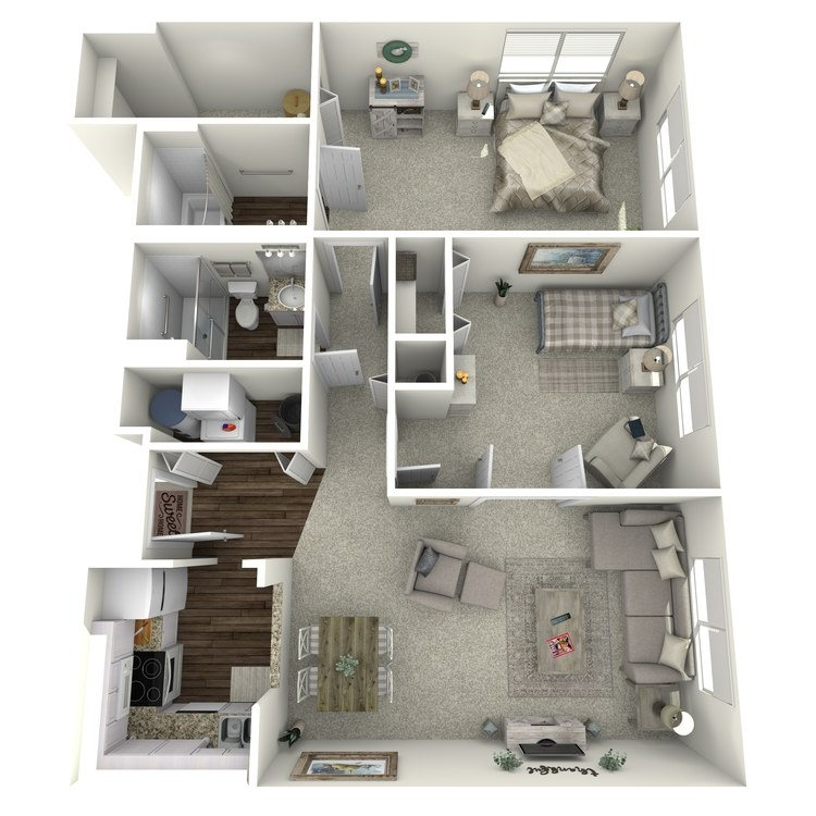 Floor plan image of Tablemountain Crestview