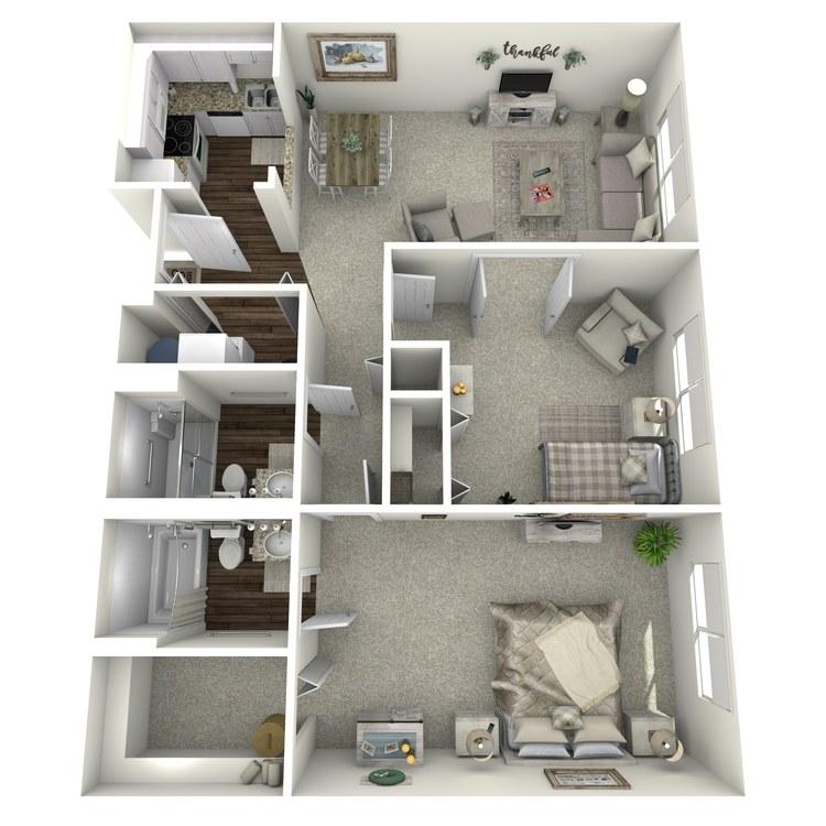 Floor plan image of Tablemountain Mountaintop