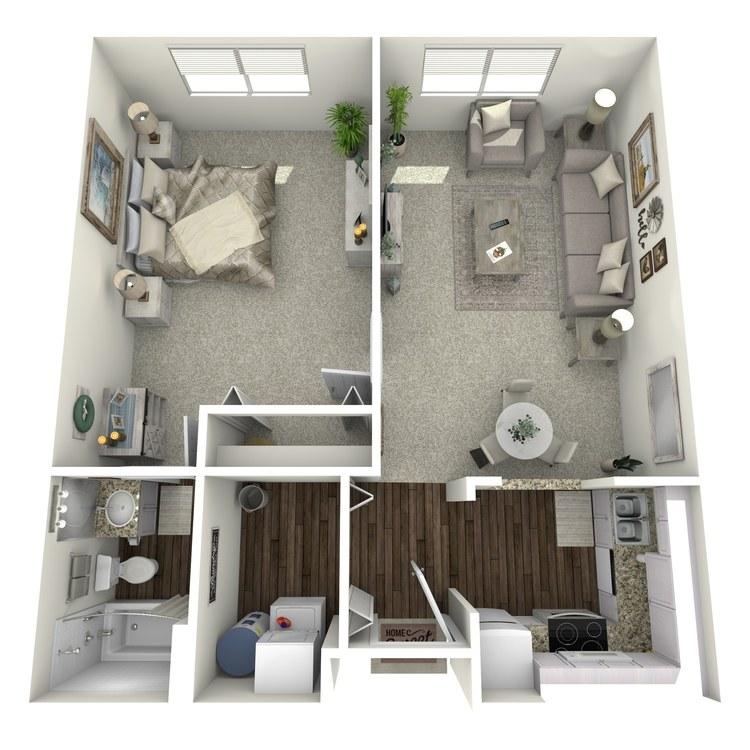 Floor plan image of Creekside Creekview