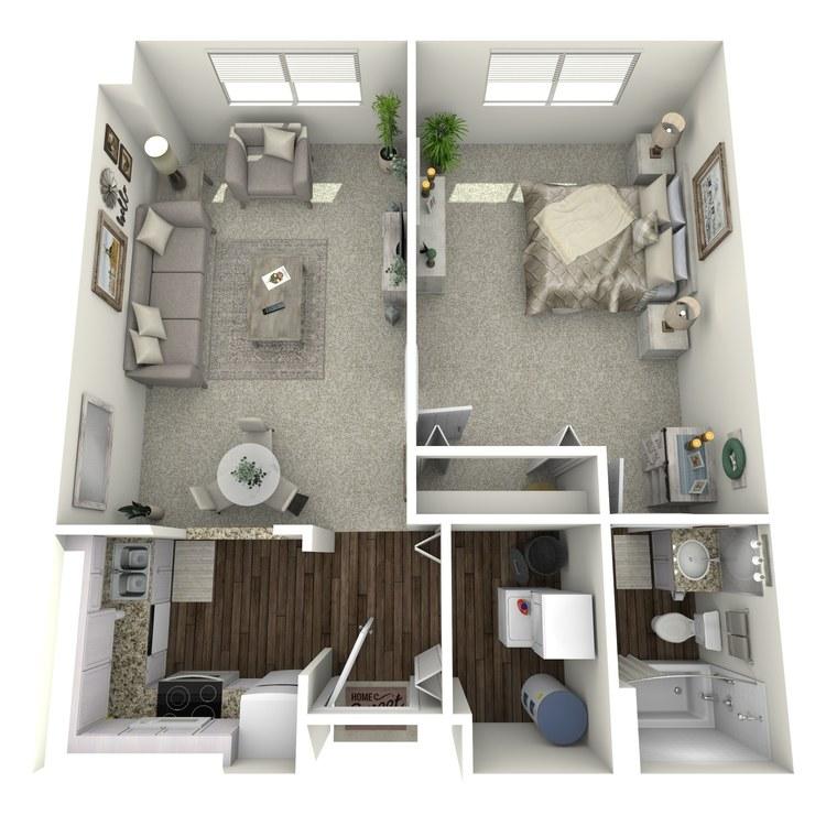 Floor plan image of Tablemountain Mountainview
