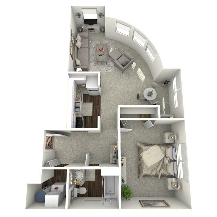 Floor plan image of Washington Skyview