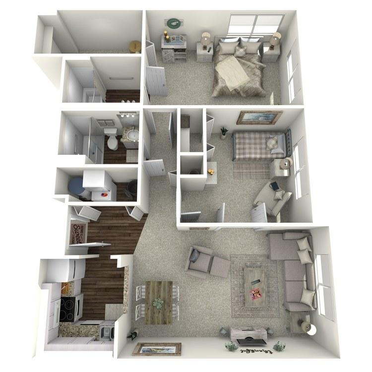 Floor plan image of Tablemountain Outlook