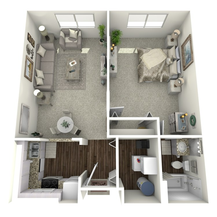 Floor plan image of Tablemountain Mesa