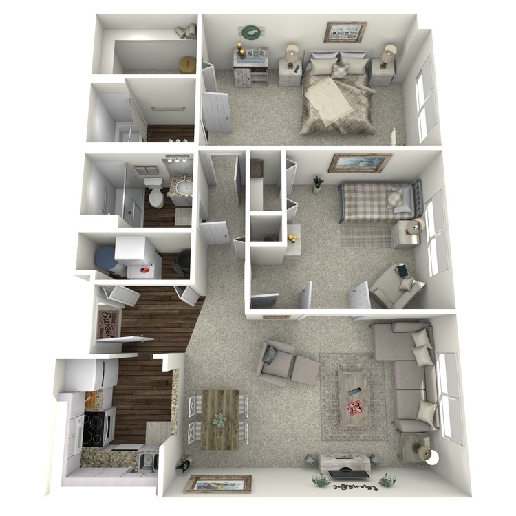 Floor plan image of Creekside Cody