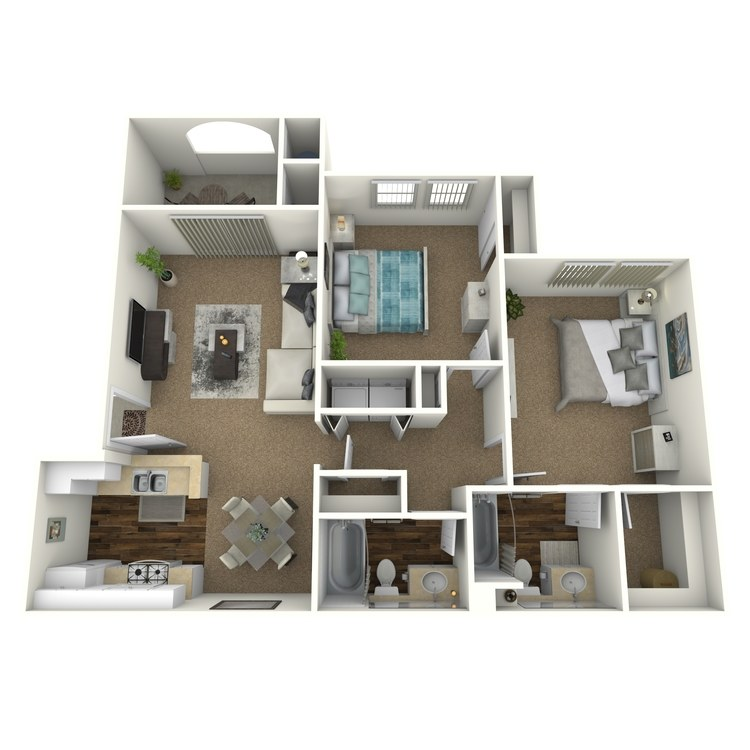 Floor plan image of Santa Barbara